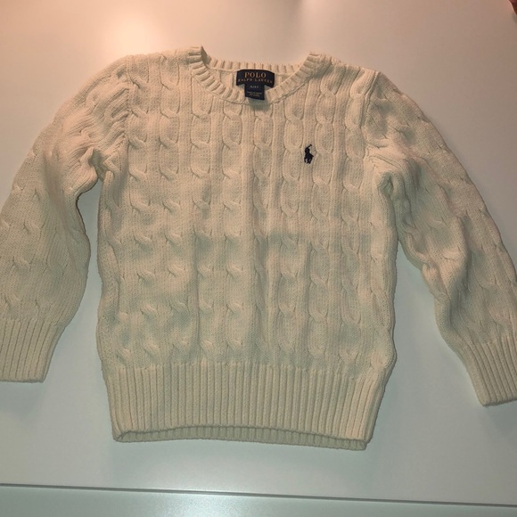 Polo by Ralph Lauren Other - Toddler Boys Ralph Lauren CableKnit Cotton Sweater